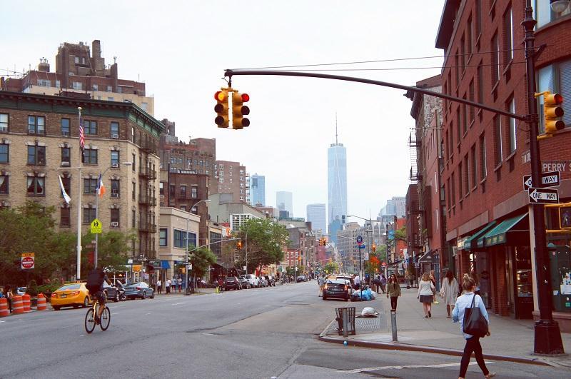 Greenwich village, one of New York's most historic neighbourhoods.