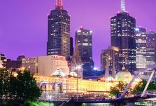 City Lights in Melbourne, Australia